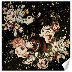 Dark Roses Canvas 16  X 16   by LovelyDesigns4U