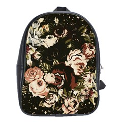 Dark Roses School Bags(large)  by LovelyDesigns4U