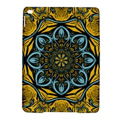 Blue Floral Fractal Ipad Air 2 Hardshell Cases by igorsin