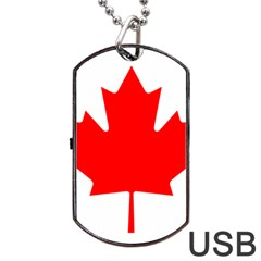 Style 1 Dog Tag USB Flash (One Side) by TheGreatNorth