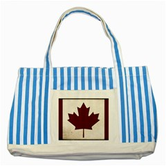 Style 4 Striped Blue Tote Bag