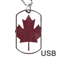 Style 8 Dog Tag USB Flash (One Side) by TheGreatNorth