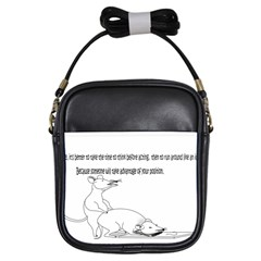 Better To Take Time To Think Girls Sling Bags by mouse