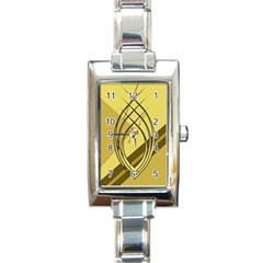 Geo Fun 12 Rectangle Italian Charm Watches by MoreColorsinLife
