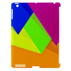 Geo Fun 15 Apple Ipad 3/4 Hardshell Case (compatible With Smart Cover) by MoreColorsinLife