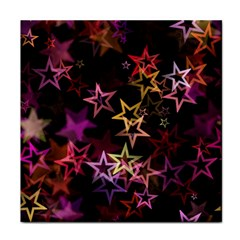 Sparkly Stars Pattern Tile Coasters by LovelyDesigns4U