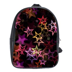 Sparkly Stars Pattern School Bags(Large)