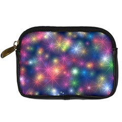 Sparkling Lights Pattern Digital Camera Cases by LovelyDesigns4U
