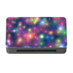 Sparkling Lights Pattern Memory Card Reader With Cf by LovelyDesigns4U
