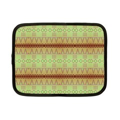 Aztec Pattern Netbook Case (small) by LalyLauraFLM