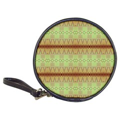 Aztec Pattern Classic 20 Cd Wallet by LalyLauraFLM