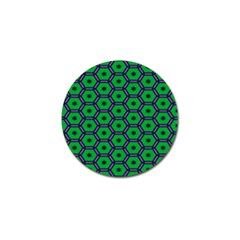Stars In Hexagons Pattern Golf Ball Marker (10 Pack) by LalyLauraFLM