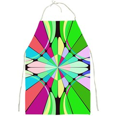 Distorted Flower Full Print Apron by LalyLauraFLM