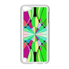 Distorted Flower Apple Ipod Touch 5 Case (white) by LalyLauraFLM