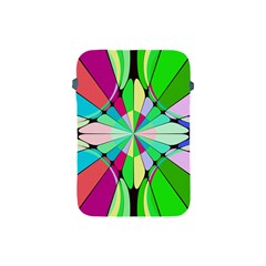Distorted Flower Apple Ipad Mini Protective Soft Case by LalyLauraFLM