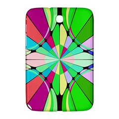 Distorted Flower Samsung Galaxy Note 8 0 N5100 Hardshell Case  by LalyLauraFLM