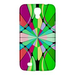 Distorted Flower Samsung Galaxy Mega 6 3  I9200 Hardshell Case by LalyLauraFLM