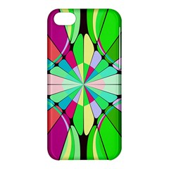 Distorted Flower Apple Iphone 5c Hardshell Case by LalyLauraFLM