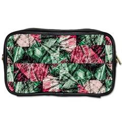 Luxury Grunge Digital Pattern Toiletries Bags 2 Side by dflcprints
