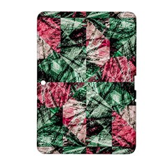 Luxury Grunge Digital Pattern Samsung Galaxy Tab 2 (10 1 ) P5100 Hardshell Case  by dflcprints