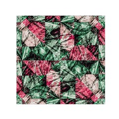 Luxury Grunge Digital Pattern Small Satin Scarf (square)  by dflcprints