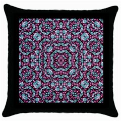 Luxury Grunge Digital Pattern Throw Pillow Cases (black) by dflcprints