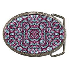 Luxury Grunge Digital Pattern Belt Buckles by dflcprints