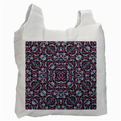 Luxury Grunge Digital Pattern Recycle Bag (two Side)  by dflcprints