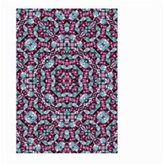 Luxury Grunge Digital Pattern Large Garden Flag (two Sides) by dflcprints