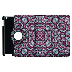 Luxury Grunge Digital Pattern Apple Ipad 2 Flip 360 Case by dflcprints