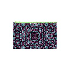 Luxury Grunge Digital Pattern Cosmetic Bag (xs) by dflcprints