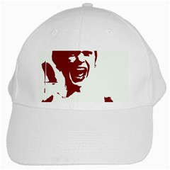Psycho White Cap by icarusismartdesigns