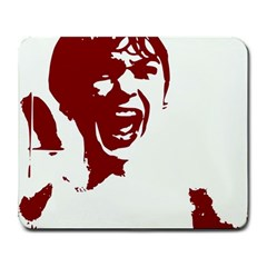 Psycho Large Mousepads by icarusismartdesigns
