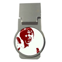 Psycho Money Clips (round)  by icarusismartdesigns