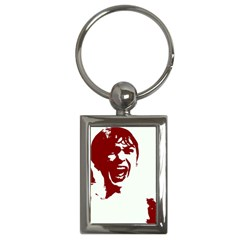 Psycho Key Chains (rectangle)  by icarusismartdesigns