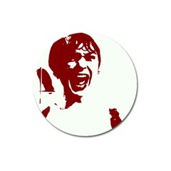 Psycho Magnet 3  (round) by icarusismartdesigns