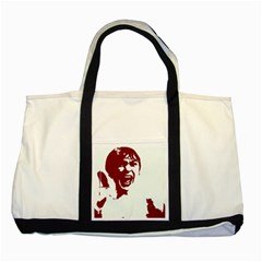 Psycho Two Tone Tote Bag  by icarusismartdesigns