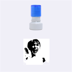 Psycho Rubber Round Stamps (small) by icarusismartdesigns