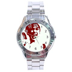 Psycho Stainless Steel Men s Watch by icarusismartdesigns