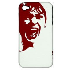 Psycho Apple Iphone 4/4s Hardshell Case (pc+silicone) by icarusismartdesigns