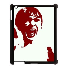 Psycho Apple Ipad 3/4 Case (black) by icarusismartdesigns