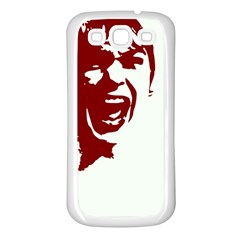 Psycho Samsung Galaxy S3 Back Case (white) by icarusismartdesigns