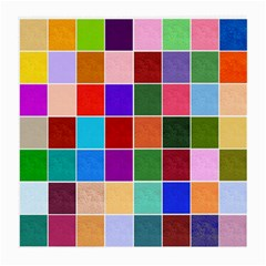Multi Colour Squares Pattern Medium Glasses Cloth by LovelyDesigns4U