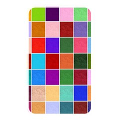 Multi Colour Squares Pattern Memory Card Reader by LovelyDesigns4U