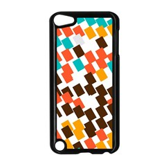 Rectangles On A White Background Apple Ipod Touch 5 Case (black) by LalyLauraFLM
