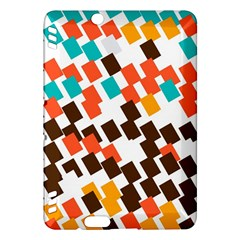 Rectangles On A White Background Kindle Fire Hdx Hardshell Case by LalyLauraFLM