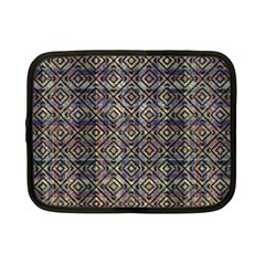 Multicolored Ethnic Check Seamless Pattern Netbook Case (small)  by dflcprints