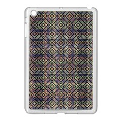 Multicolored Ethnic Check Seamless Pattern Apple Ipad Mini Case (white) by dflcprints
