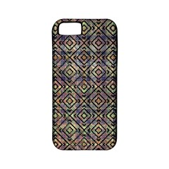Multicolored Ethnic Check Seamless Pattern Apple Iphone 5 Classic Hardshell Case (pc+silicone) by dflcprints