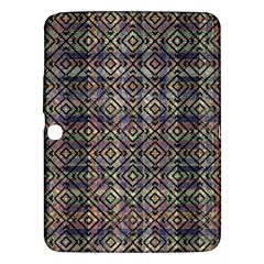 Multicolored Ethnic Check Seamless Pattern Samsung Galaxy Tab 3 (10 1 ) P5200 Hardshell Case  by dflcprints